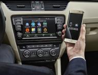 Kabelloser Datenfluss vom Smartphone