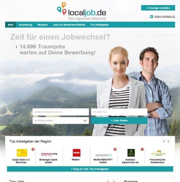Photo of stellenanzeigen.de relauncht regionale Jobbörse localjob.de