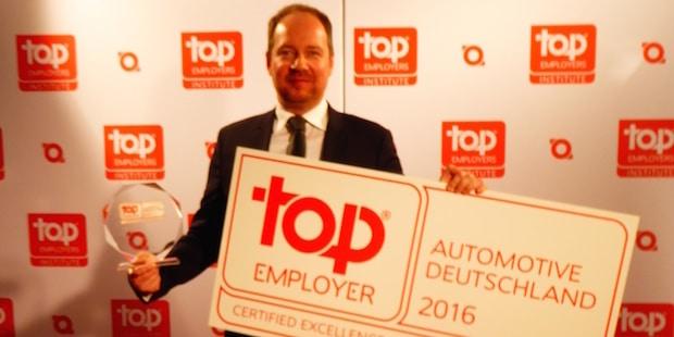 Bild von Carcoustics zum 3. Mal in Folge als Top Arbeitgeber Automotive ausgezeichnet