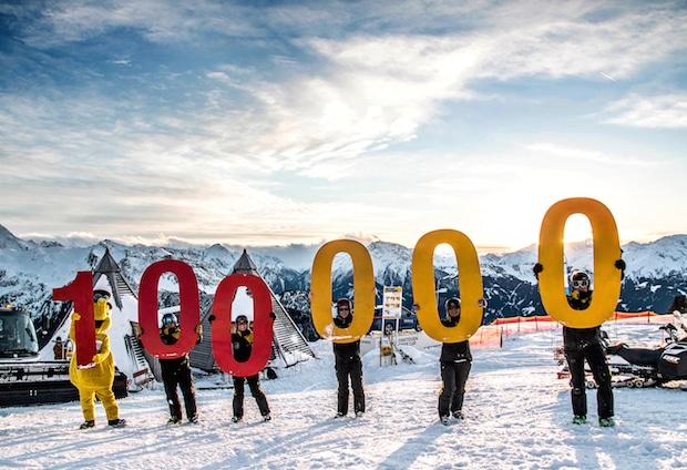 Bild von Das größte Skigebiet des Zillertals ist auch online ganz groß!