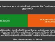DocRAID bietet sichere und einfache E-Mail-Verschlüsselung für Outlook