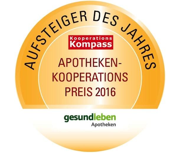 """Photo of gesund leben-Apotheken sind """"Aufsteiger des Jahres"""""""