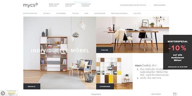 Photo of Online-Möbel-Newcomer startet stark – mycs verzeichnet eine Million Euro Umsatz in Q4 2015