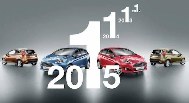 Bild von Ford Fiesta ist erneut Europas meistverkaufter Kleinwagen
