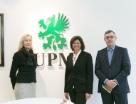 Papierhersteller UPM unterstützt Energiewende in Bayern