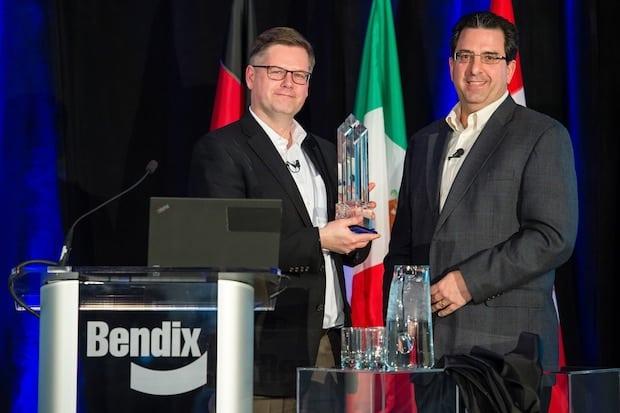Bild von Knorr-Bremse Gruppe erhält bedeutende Auszeichnung von USamerikanischem Nutzfahrzeughersteller Navistar