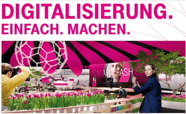 Photo of CeBIT 2016: Deutsche Telekom begrüßt digitalen Frühling