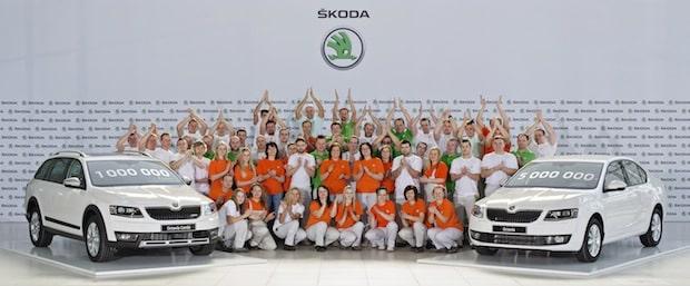 Bild von Meilenstein: einmillionster SKODA Octavia der dritten Generation produziert