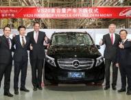 Marktpremiere der Mercedes-Benz V-Klasse in China