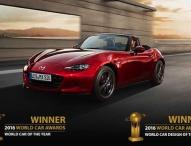 "Mazda MX-5 ist ""World Car of the Year 2016"""
