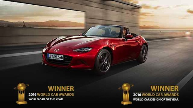 "Photo of Mazda MX-5 ist ""World Car of the Year 2016"""