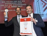Alpina streicht renommierten Marken-Award 2016 ein