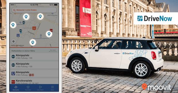Photo of Lokale Mobilitäts-App Moovit kooperiert mit DriveNow