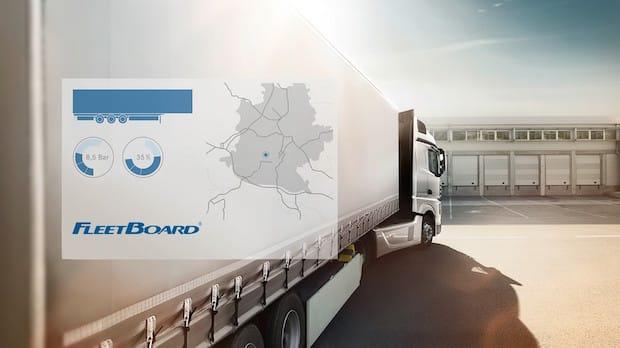 Photo of FleetBoard Trailer Management kombiniert die Telematikdaten von Zugmaschine und Auflieger