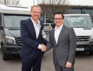 Dreimillionster Mercedes-Benz Sprinter geht an den Reisemobilhersteller Hymer