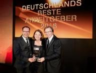 Daimler Financial Services AG ist Deutschlands bester Arbeitgeber 2016