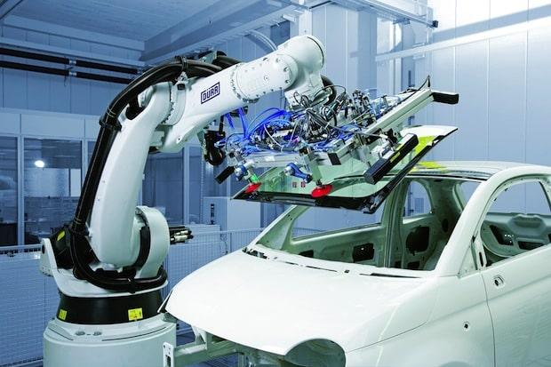 Bild von US-Wirtschaft: Autosektor kauft jeden zweiten Industrie-Roboter