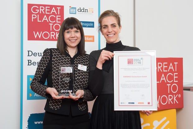 Photo of Edenred zum dritten Mal unter Deutschlands besten Arbeitgebern
