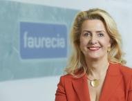 """Faurecia Geschäftsführerin erhält """"Silver Stevie Award"""""""