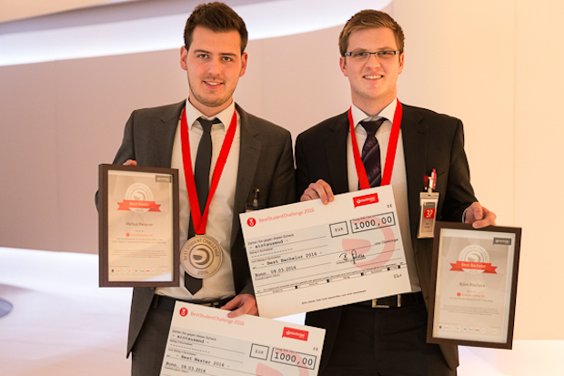 Photo of BestStudentChallenge 2016 – Deutschlands beste Studenten ausgezeichnet