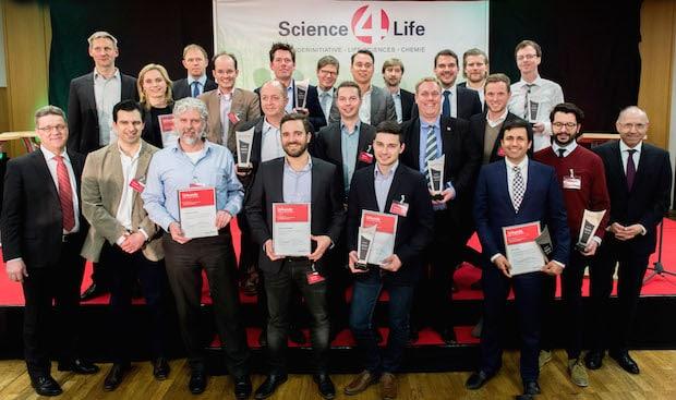 Photo of Gewinner der Konzeptphase des Science4Life Venture Cup 2016 prämiert