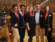 Professionell, hochwertig und stilvoll: die neue Kollektion für Heinemann Duty Free Mitarbeiter