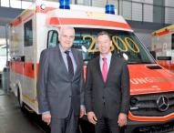 2500ster Sprinter-Rettungswagen für den Rettungsdienst in Bayern
