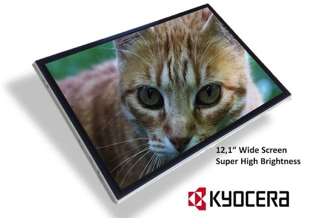 Photo of Kyocera stellt neues super helles Wide-Screen TFT-LCD für industrielle Anwendungen vor