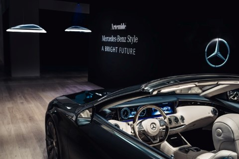 Bild von Mercedes-Benz Style kooperiert mit italienischem Lichtdesign Unternehmen Artemide