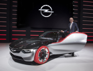 Opel auf dem Genfer Automobilsalon