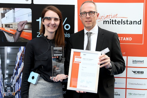 Bild von Logcom GmbH erhält Innovationspreis-IT