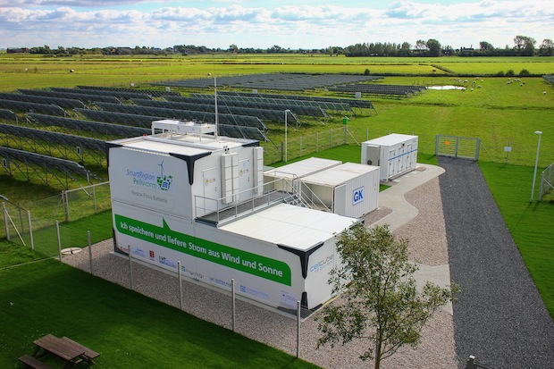 Bild von Speicher für erneuerbare Energien: Thema heute und in Zukunft