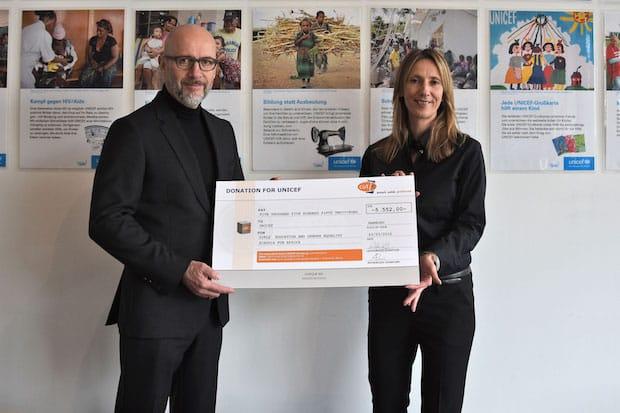 Photo of cut-e übergibt großzügige Spende an UNICEF für Schulen in Afrika
