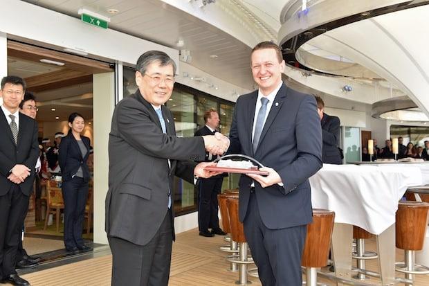 Bild von AIDA Cruises übernimmt neues Flaggschiff AIDAprima