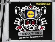 Lidl errichtet wieder Filiale auf dem Festivalgelände Rock am Ring