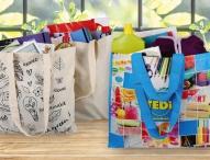 Nachhaltig tragfähig: TEDi verbannt Einweg-Plastiktüte