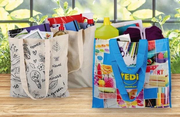Bild von Nachhaltig tragfähig: TEDi verbannt Einweg-Plastiktüte