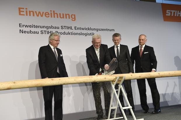 Bild von STIHL weiht Neubauten für 90 Millionen Euro ein