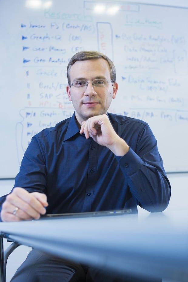 Photo of Neuer Professor untersucht am HPI komplexe Muster in großen Datenmengen