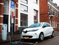 150 Renault ZOE laden niederländischen Solarstrom