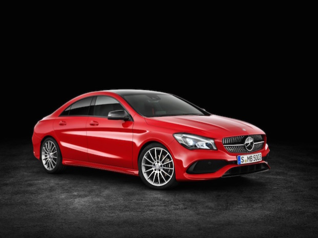 Mercedes-Benz CLA 200d 4MATIC Coupé (C117) 2016. - Quelle: Daimler AG