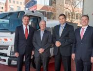 Daimler Trucks startet Flottentest mit Elektro-Lkw von Fuso