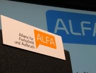 Allianz für Fortschritt und Aufbruch (ALFA): Klausurtagung für klareres inhaltliches Profil