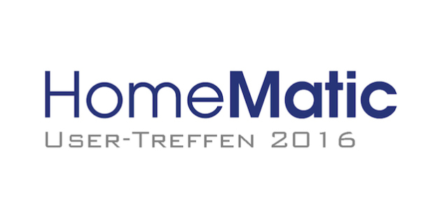eQ-3 unterstützt das HomeMatic User-Treffen 2016 in Kassel. - Quelle: eQ-3 AG