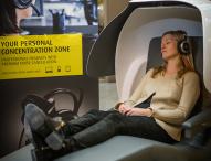 """Mehr Ruhe und Entspannung für Mitarbeiter in der """"Schlafkugel"""""""