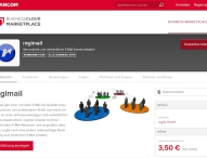 regify startet im BusinessCloud Marketplace
