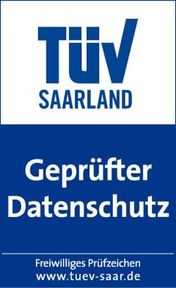 TÜV Saarland Siegel - Quelle: Frische Fische/TÜV