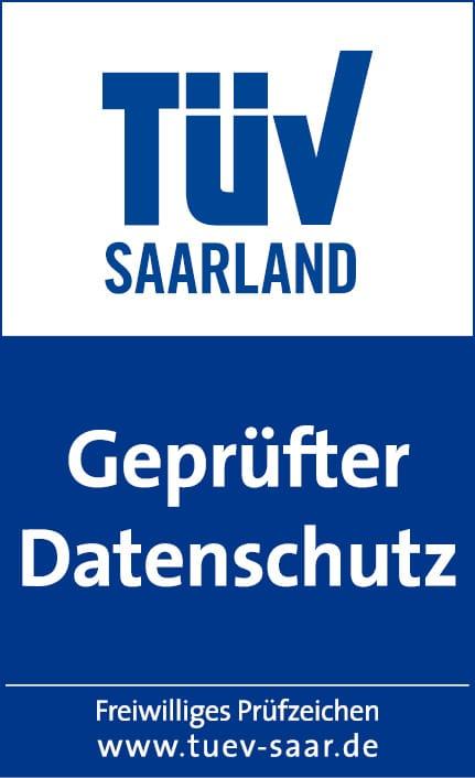 Bild von FinanceFox mit TÜV-Zertifikat für hohen Datenschutz ausgezeichnet