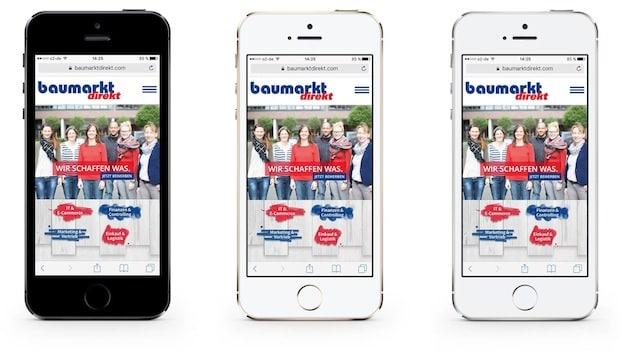 Photo of baumarkt direkt launcht Karriere-Website