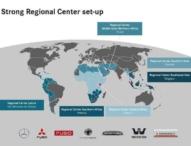 Neuaufstellung abgeschlossen: Daimler eröffnet sechstes Regionalzentrum für Nutzfahrzeuge